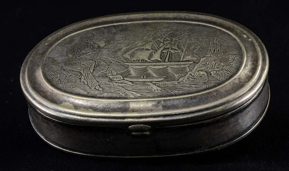 Antique Charles Parker Snuff Box