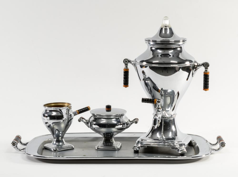 Manning Bowman Art Deco Coffee Service