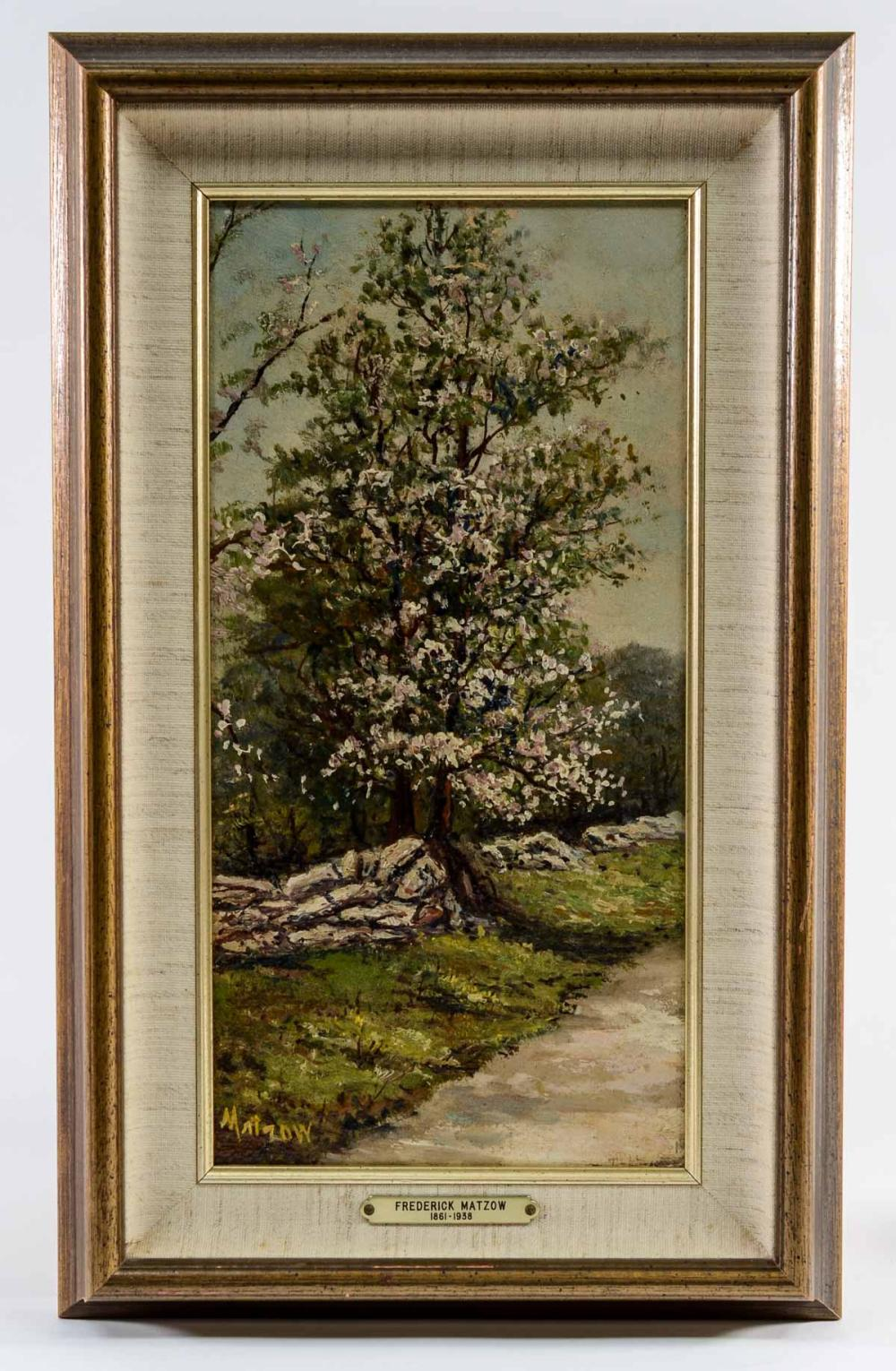 Frederick Matzow OOB Flowering Tree