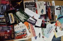 1953-59 US sales brochures