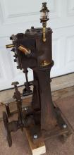 Nautical launch steam engine