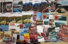 Ford, Chevrolet, Dodge truck brochures