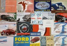 Ford, Mercury Linc Zephyr brochures
