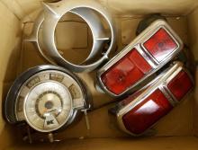 1935 Chrysler bumpers, Kaiser tail lights