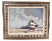 Paul Landry (B. 1933) Seascape