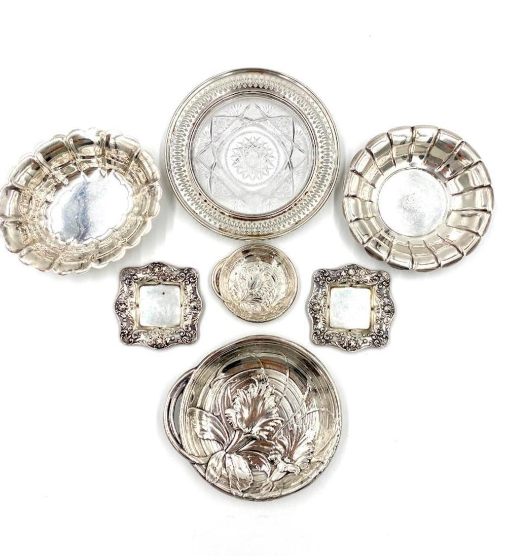 Lot of Sterling Silver Small Dishes