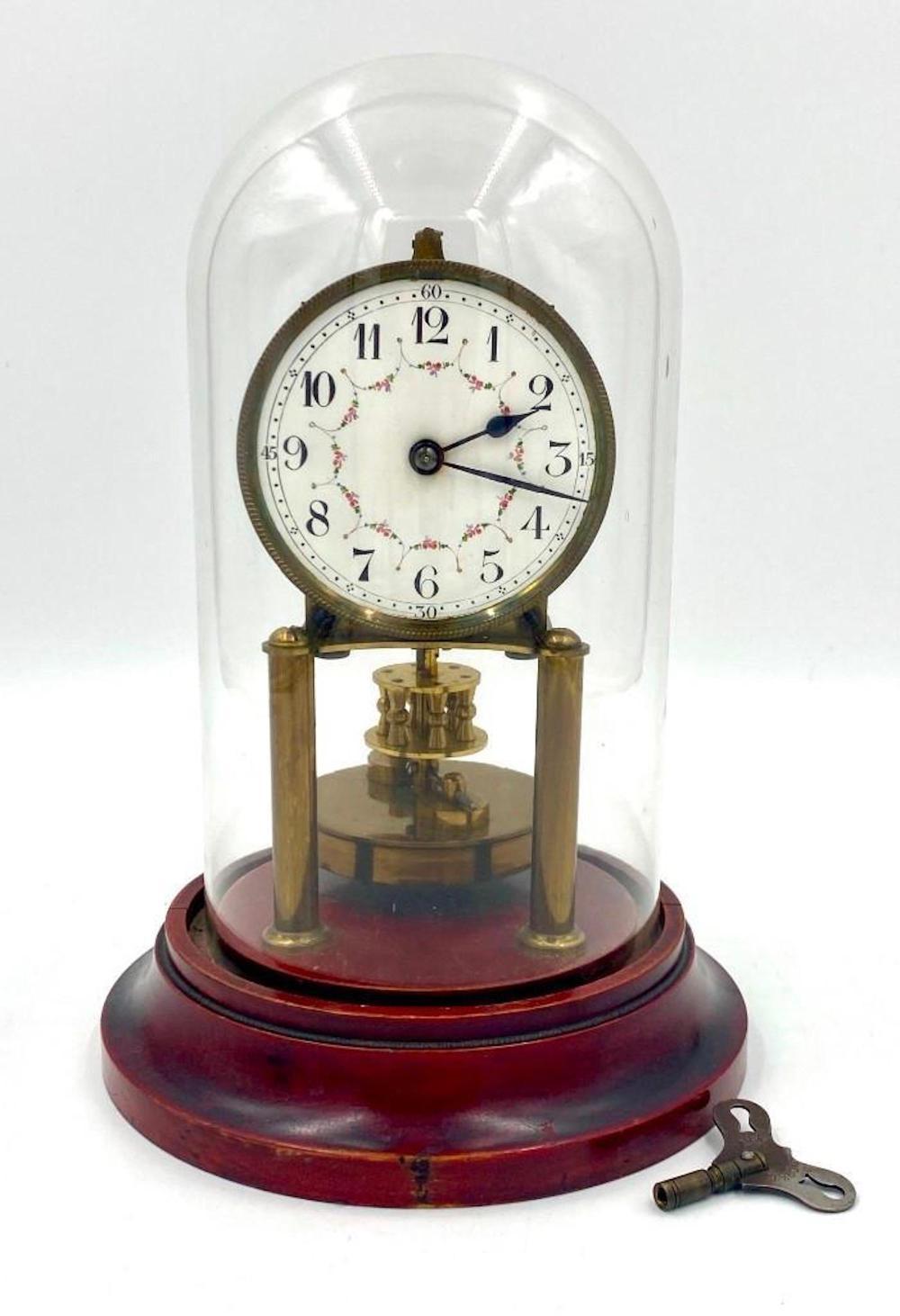 Gustav Becker Skeleton Clock
