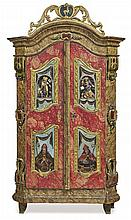 Cupboard, Upper Bavaria (Mangfall Valley), 19th c.