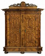A South German (possibly Regensburg) Cupboard, first half 18th c.