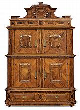 Cupboard, Augsburg, first half 18th c.
