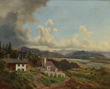 Lueger, Michael - View of St. Margarethen and the Inntal Valley