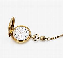 Gentleman's pocket watch with a chain