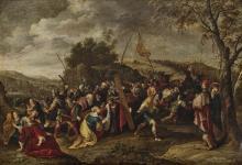 Baellieur (Balju), Cornelis de - The Carrying of the Cross - Christ and St. Veronica
