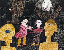 """Schultze-Blum, Ursula1921 Mittenwalde - 1999 Köln""""Das Paar und die anderen"""""""