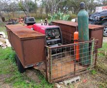Lincoln welder generator/welding trailer