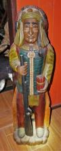 Small wooden cigar store Indian