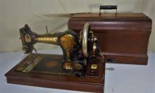 Jones portable sewing machine