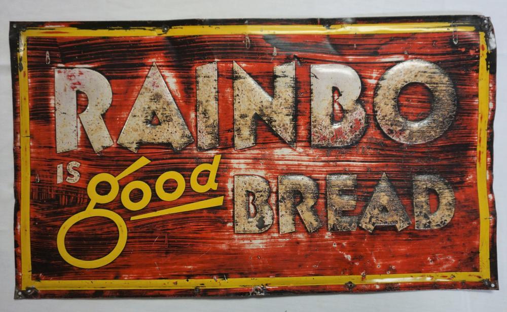 Rainbo Bread sign