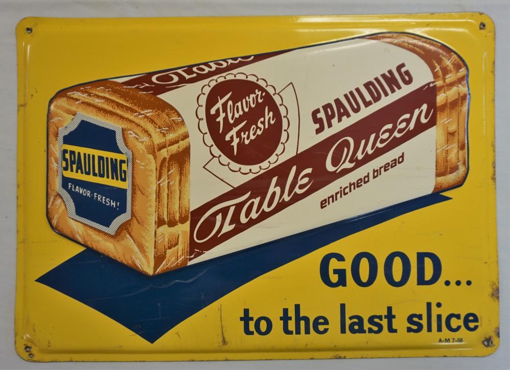 Spaulding Bread sign