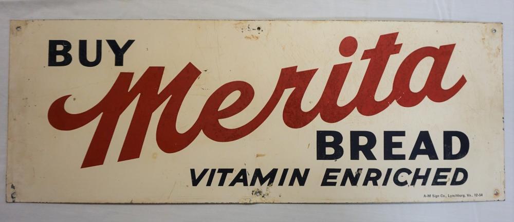 Merita Bread sign