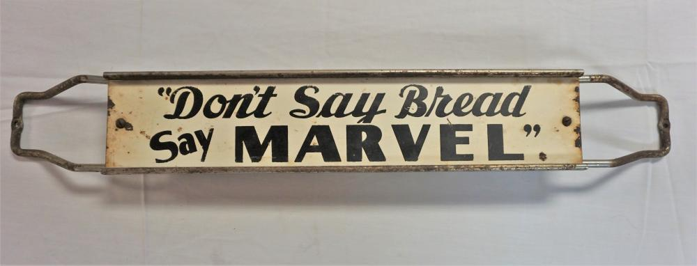 Don't Say Bread say Marvel sign