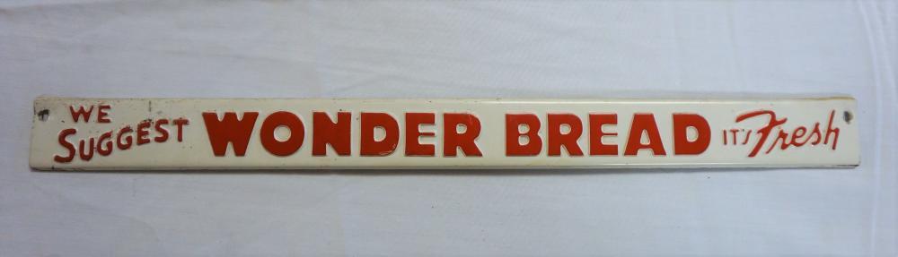 Wonder Bread sign