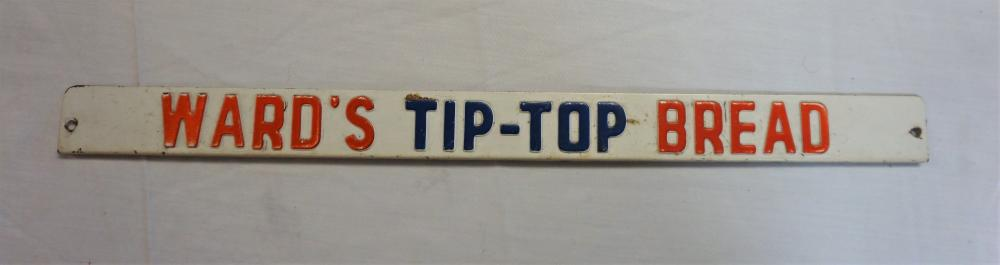Ward's Tip-Top Bread sign