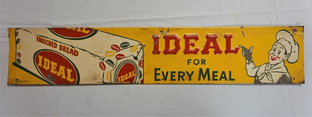 Ideal for every meal sign