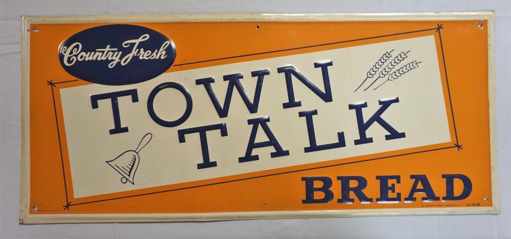 Town Talk sign