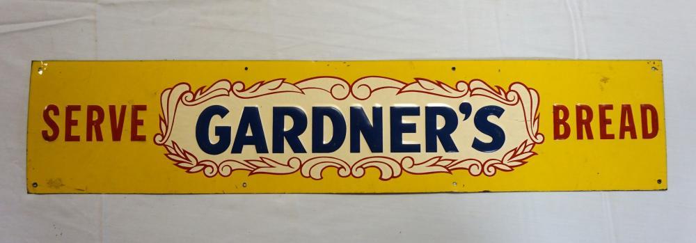 Gardner's Bread sign