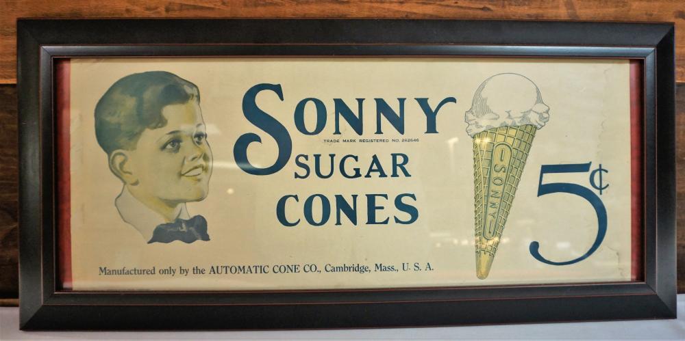 Sonny Sugar Cone advertisement