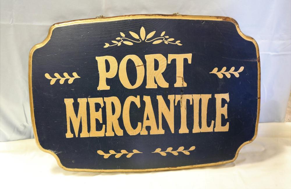 Port Mercantile Sign