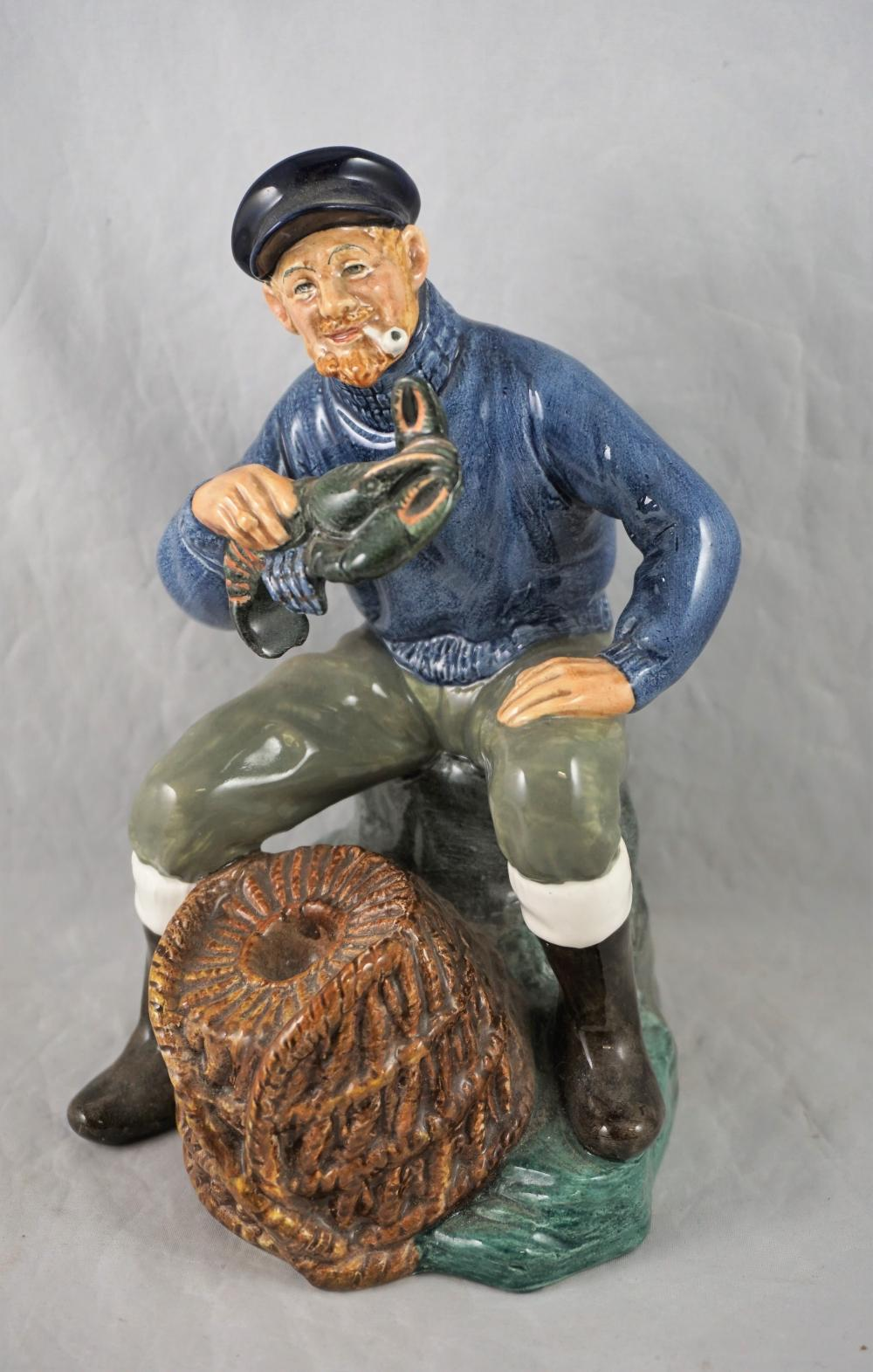 Royal Doulton The Lobster Man figurine