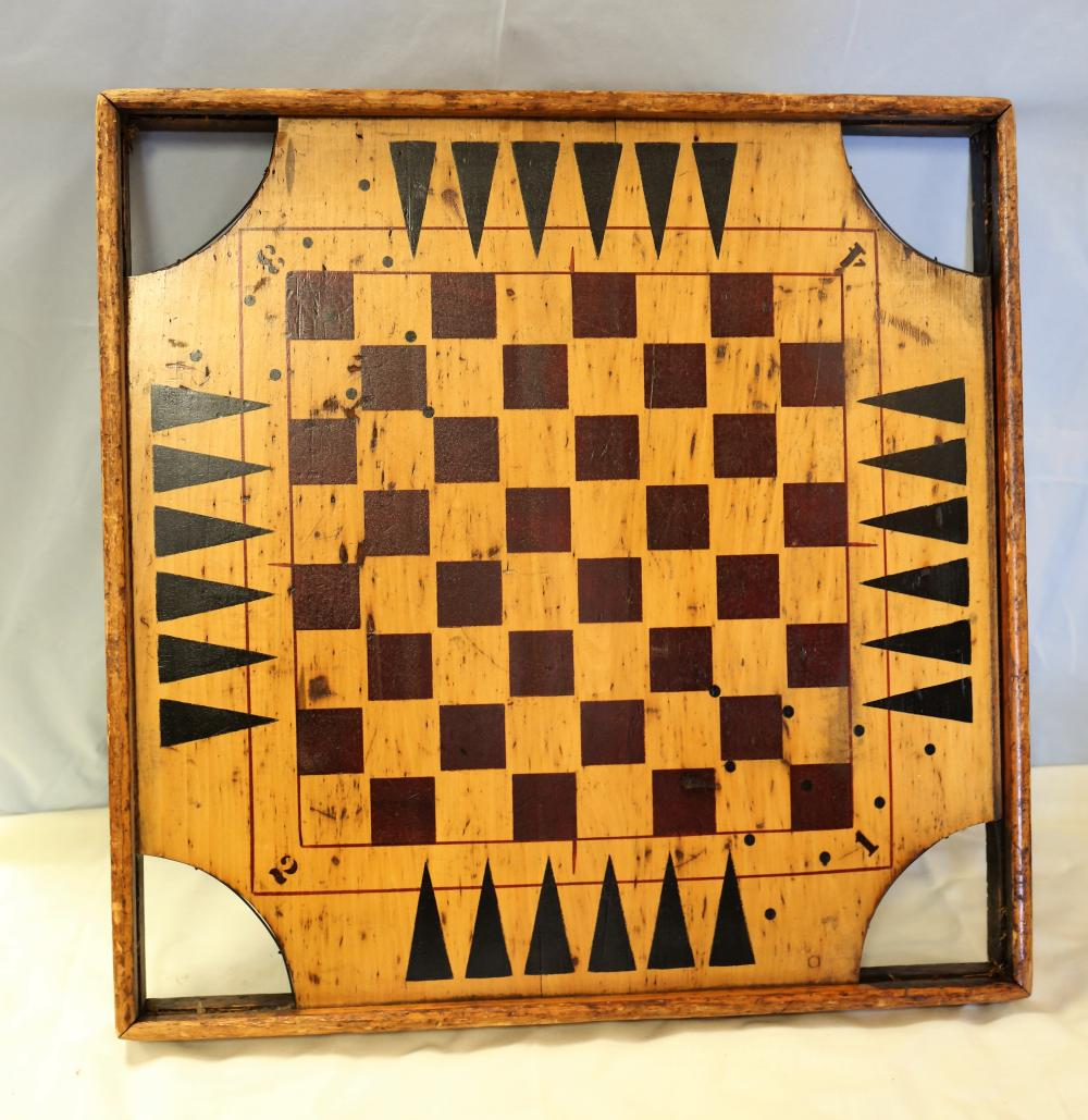 Vintage Game Board