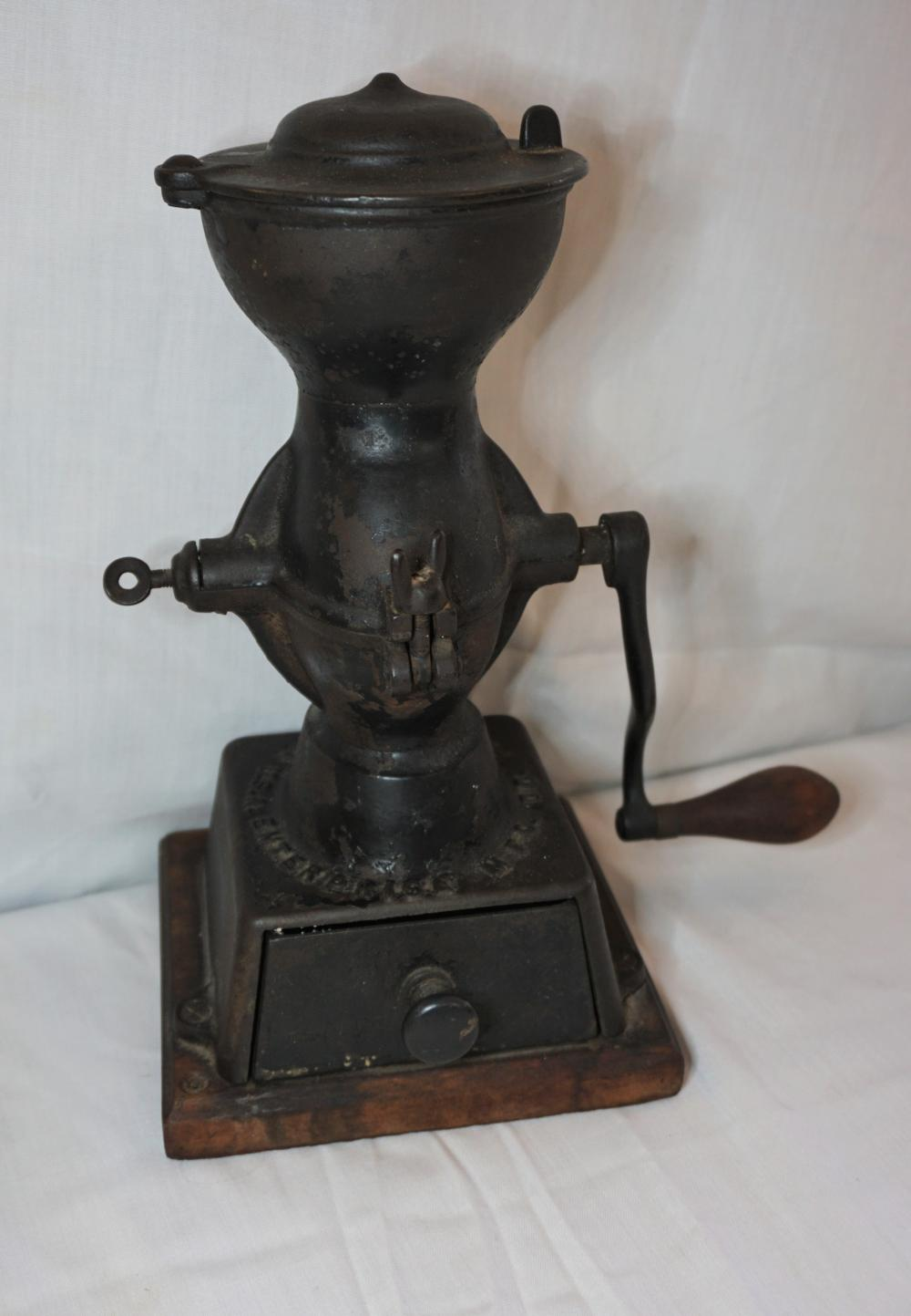 Enterprise cast iron coffee grinder