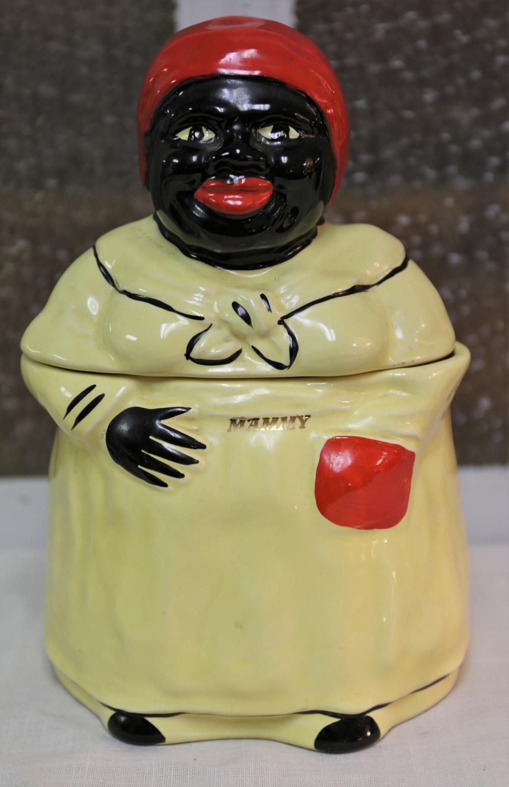 Pearl Mammy cookie jar