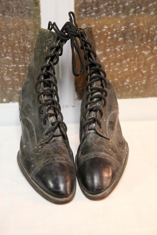 Antique women's shoes