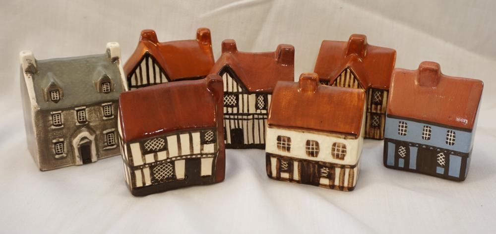 Suffolk ceramic cottages