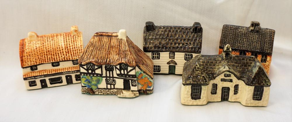 Tey Pottery miniature village