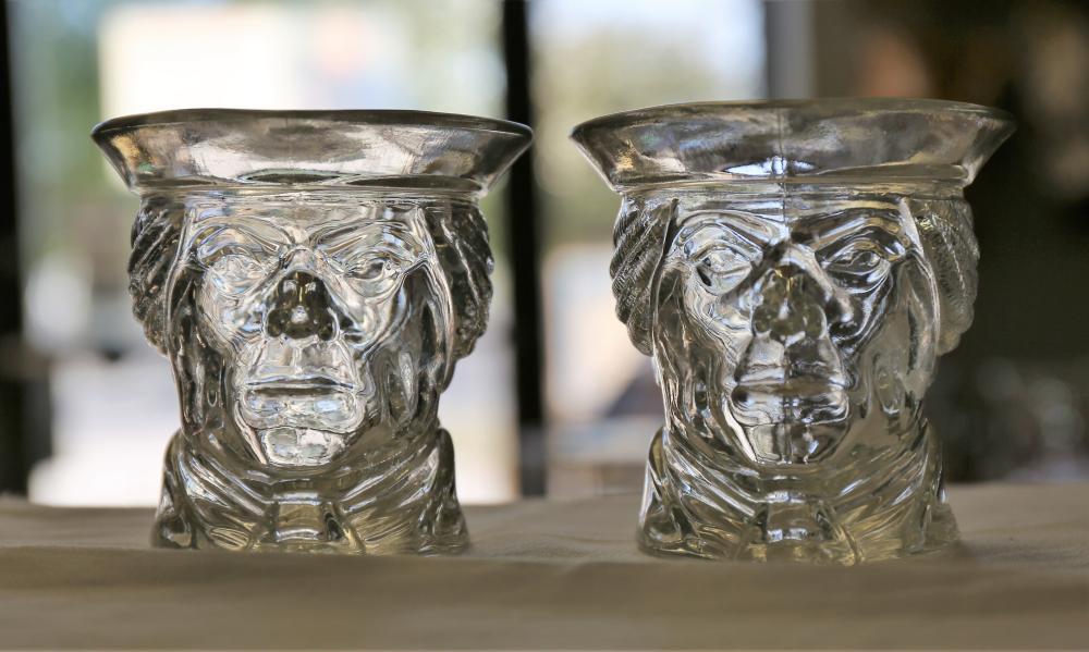 Avon glass toby mug