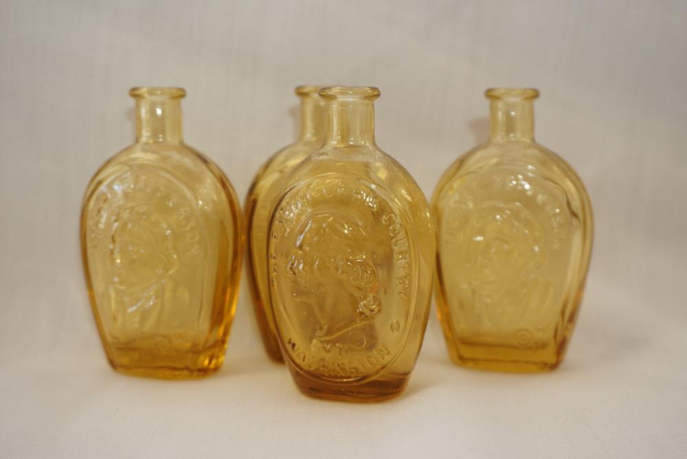 Amber presidential bottles