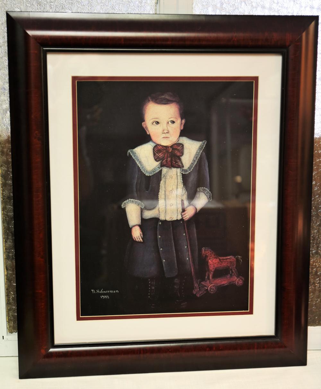 N. Schneeman framed print