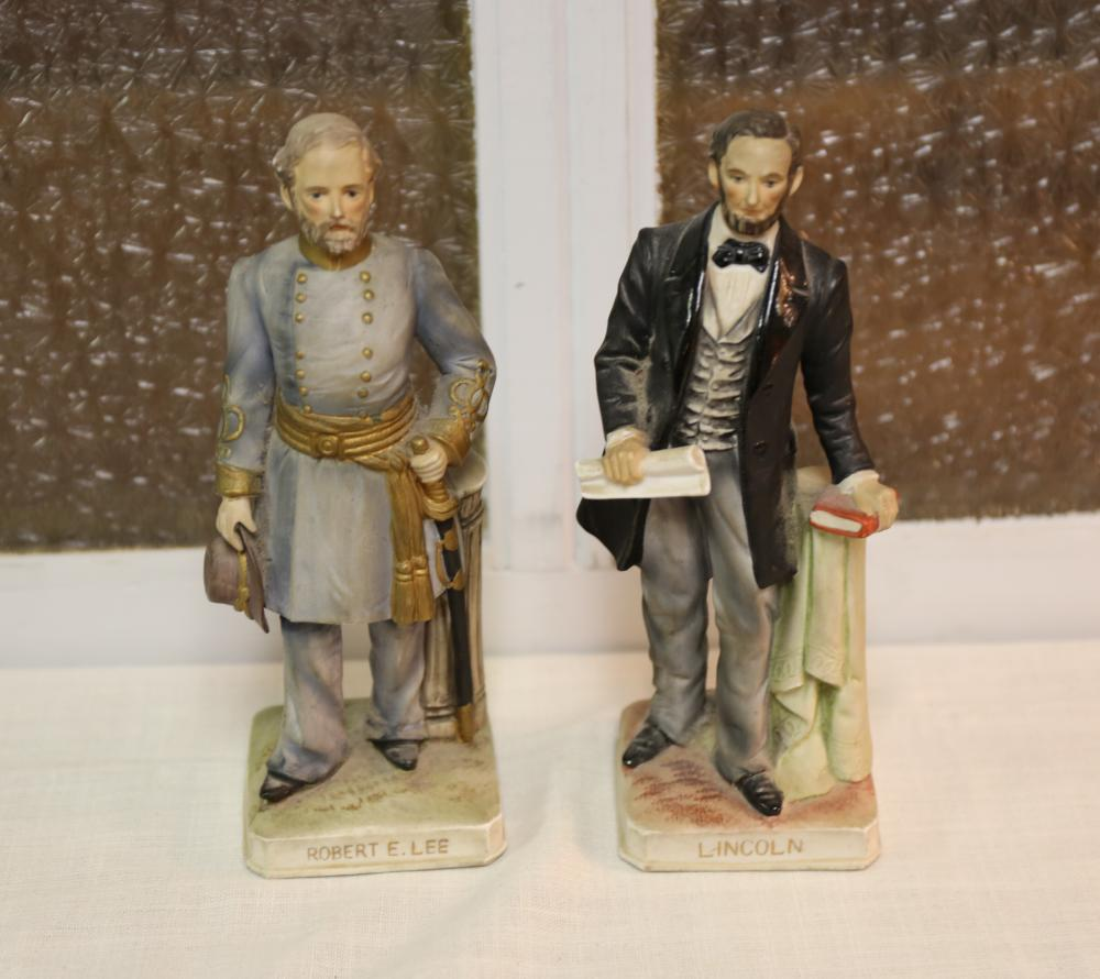Lefton Lincoln, General Lee figurines