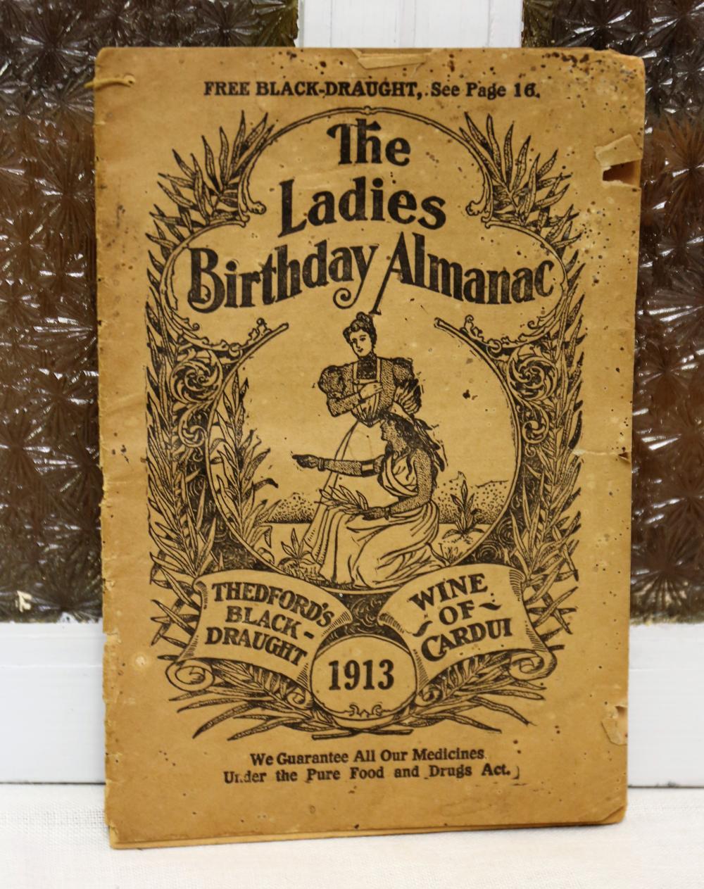1913 birthday almanac