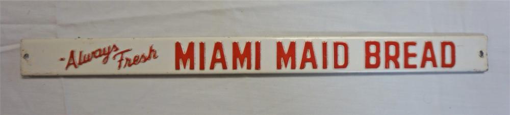 Miami Maid Bread sign