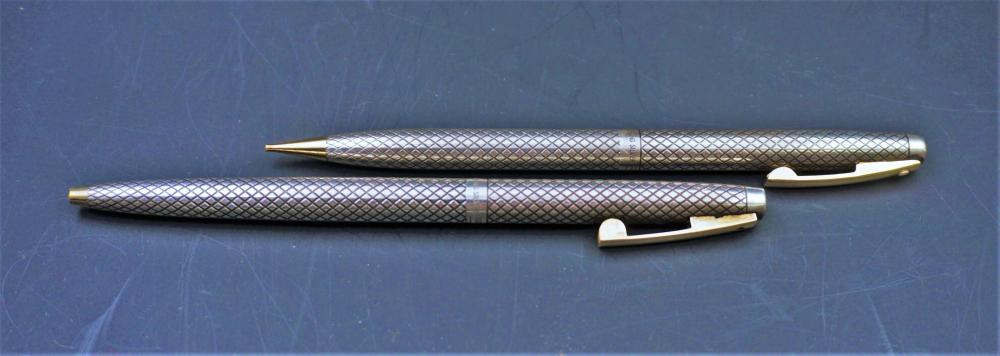 Sterling silver Schaeffer pen and pencil set