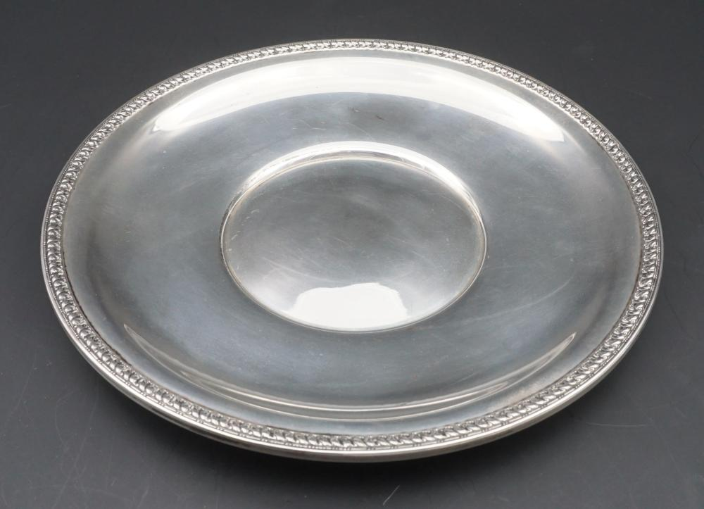 Sterling silver bread plate