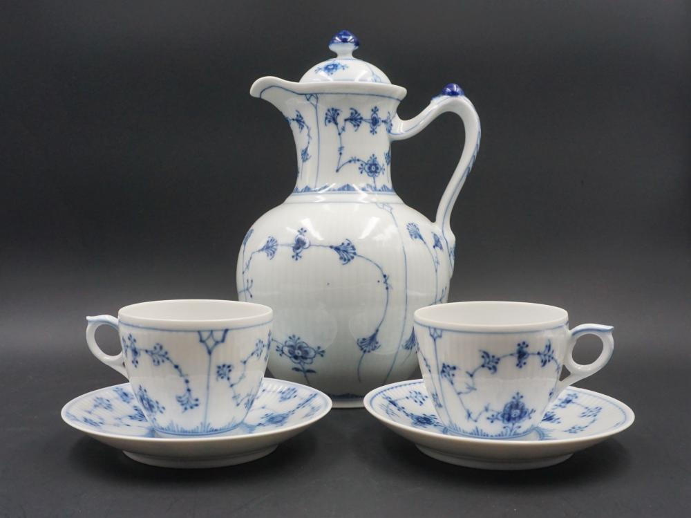 Royal Copenhagen Blue Fluted tea service