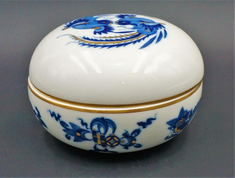 Meissen powder jar