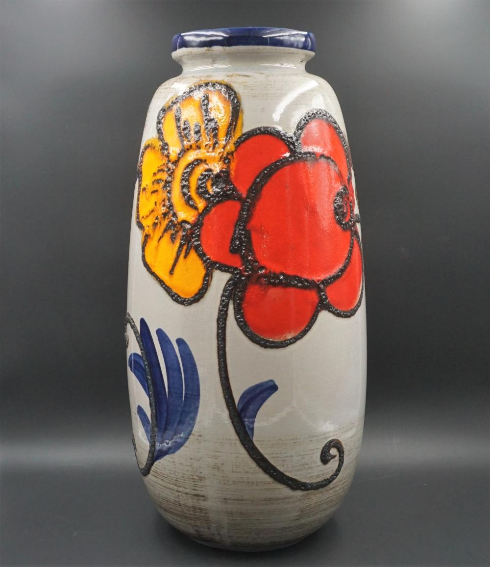 Scheurich West German Fat Lava pottery vase